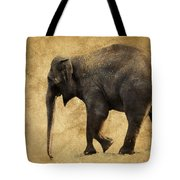 Elephant Walk II Tote Bag