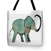Elephant Water Color Tote Bag