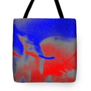 Elephants En Cavale Tote Bag