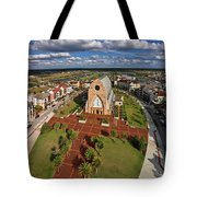 Elevated View Of Ave Maria Oratory Tote Bag