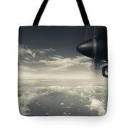 Elevated View Of Caribbean Sea Tote Bag