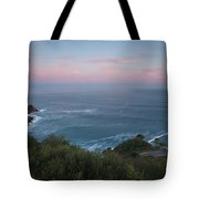 Elevated View Of Monte Igueldo Tote Bag