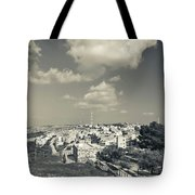 Elevated View Of The New Town, Umm Tote Bag