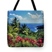 Elevated View Of Trees And Plants Tote Bag