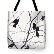 Eleven Birds One Morsel Tote Bag