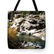 Eleven Mile Canyon - Mountain Stream Tote Bag
