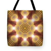Eleven Sacred Steps Of Light K1 Tote Bag by Derek Gedney