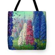 Elf And Fantastic Flowers Tote Bag