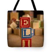 Eli - Alphabet Blocks Tote Bag