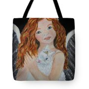 Eliana Little Angel Of Answered Prayers Tote Bag