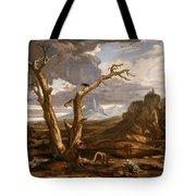 Elijah In The Desert Tote Bag