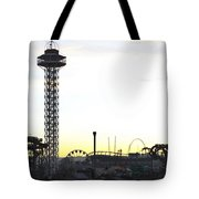 Elitch Gardens Night 2 Tote Bag