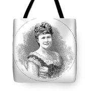 Elizabeth Of Romania (1843-1916) Tote Bag