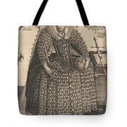 Elizabeth, Queen Of England, C.1603 Tote Bag