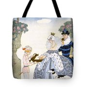 Elizabethan England Tote Bag by Georges Barbier