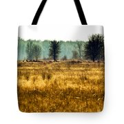 Elk In The Distance No. 1 Tote Bag