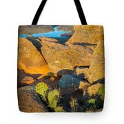 Elk Mountain Sunset Tote Bag