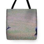 Elk On The Plains 1 Tote Bag