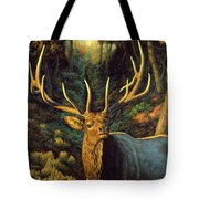 Elk Painting - Autumn Majesty Tote Bag