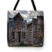 Elkhorn Ghost Town Public Halls - Montana Tote Bag