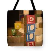Ella - Alphabet Blocks Tote Bag