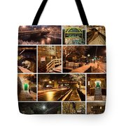 Ellicott City In The Snow Tote Bag