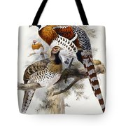Elliot's Pheasant Tote Bag by Joseph Wolf