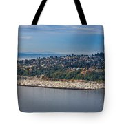 Elliott Bay Marina Tote Bag