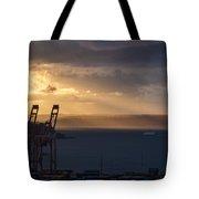 Elliott Bay Sunrays Tote Bag
