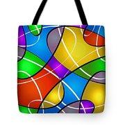Elliptical Tote Bag