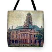 Ellis County Courthouse Tote Bag