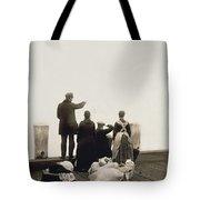 Ellis Island Immigrants Tote Bag