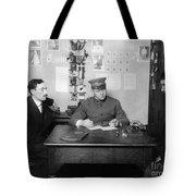 Ellis Island: Testing, C1914 Tote Bag