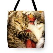 Elmos Nap Time---soft Look Tote Bag