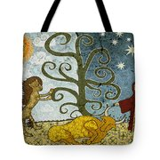 Elton's Fairytale  Tote Bag by Sergey Khreschatov