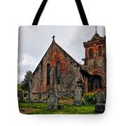 Elvanfoot Parish Church Tote Bag by Marcia Colelli