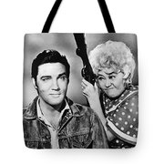 Elvis And Joan Tote Bag