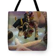 Elvis In Blue Hawaii Tote Bag