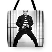 Elvis Presley In Jailhouse Rock 1957 Tote Bag