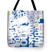 Elvis Presley On Facebook Tote Bag
