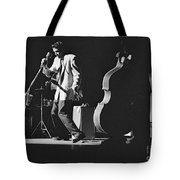 Elvis Presley Performing At The Fox Theater 1956 Tote Bag