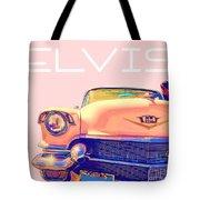 Elvis Presley Pink Cadillac Tote Bag