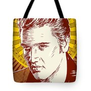 Elvis Presley Pop Art Tote Bag