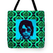 Elvis Presley Window P128 Tote Bag