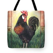 Elvis The Rooster Tote Bag