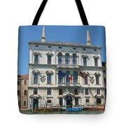Embassy Building Venice Italy Tote Bag