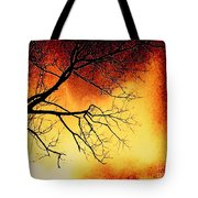 Ember Bough Tote Bag