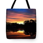 Embers Of The Day Tote Bag
