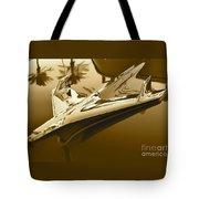 Emblem In Sepia Tote Bag