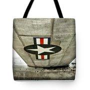 Emblem Underneath Tote Bag